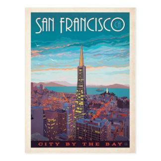 Ville de San Francisco | par la baie Carte Postale