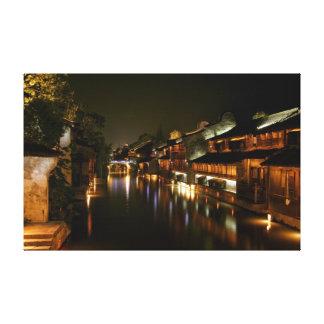 Ville de Wu en Chine Toiles