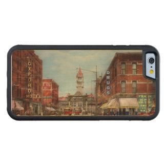 Ville - Denver le Colorado - accueillez à Denver Coque iPhone 6 Bumper En Érable