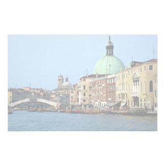 Ville des îles, Venise, Italie Papier À Lettre Personnalisé