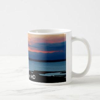 Ville d'océan, tasse de DM
