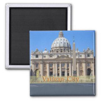 Ville du Vatican Magnet Carré