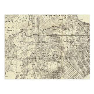 Ville et comté de San Francisco Carte Postale
