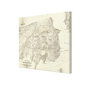 Ville et comté de San Francisco Toiles