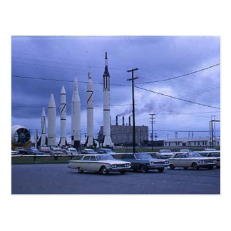 Ville Etats-Unis de Rocket Carte Postale