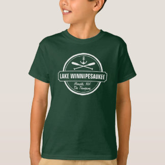 Ville faite sur commande de Winnipesaukee NH de T-shirt