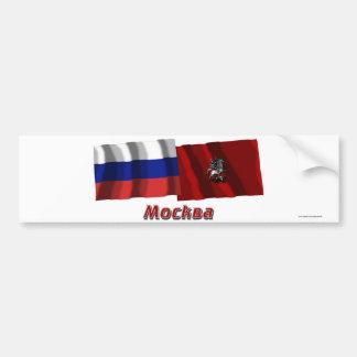 Ville fédérale de la Russie et de Moscou Autocollant Pour Voiture