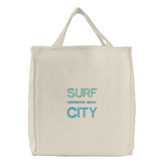 VILLE fourre-tout de SURF/sac de plage Sacs Brodés