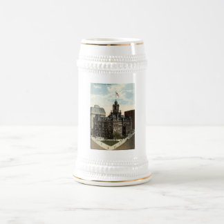 Ville hôtel, cru 1915 de Detroit, Michigan Chope À Bière