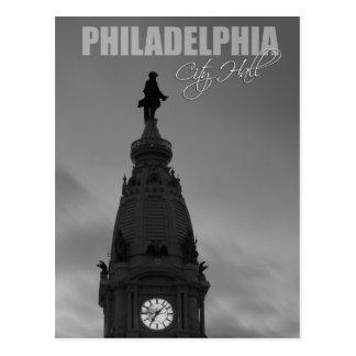 Ville hôtel de Philadelphie en Pennsylvanie Carte Postale