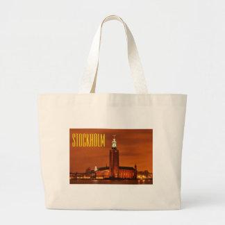 Ville hôtel, Suède de Stockholm Grand Tote Bag