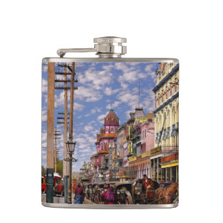 Ville - la Nouvelle-Orléans l'ère victorienne 1887 Flasques