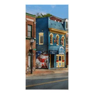 Ville - l'Alexandrie, VA - le Roi Street Blues Photocarte