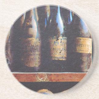 Vin vintage dessous de verre