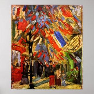 Vincent van Gogh - 14ème de la célébration de Poster