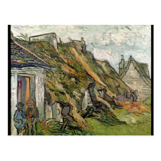 Vincent van Gogh | a couvert des cottages de Carte Postale