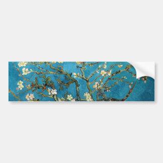 Vincent van Gogh, arbre d'amande de floraison Autocollant De Voiture