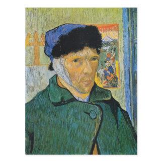Vincent van Gogh - autoportrait Carte Postale