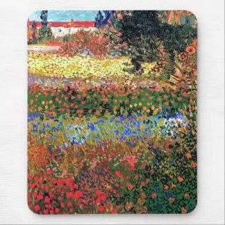 Vincent van Gogh - beaux-arts de jardin Tapis De Souris