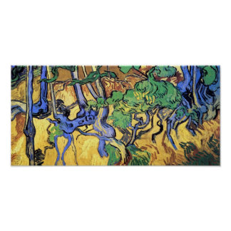 Vincent van Gogh - beaux-arts de racines et de Poster