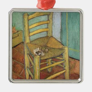 Vincent van Gogh chaise de   Vincent, 1888 Ornement Carré Argenté
