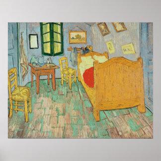 Vincent van Gogh chambre à coucher de | Van Gogh Poster