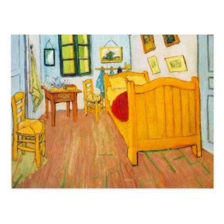 Vincent van Gogh - chambre à coucher en carte