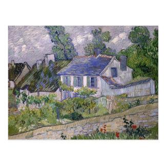 Vincent van Gogh - Chambres chez Auvers Carte Postale