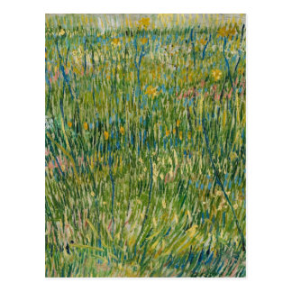 Vincent van Gogh - correction d'herbe Cartes Postales