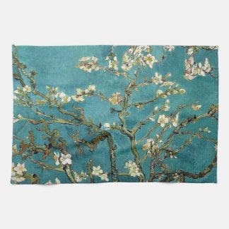 Vincent van Gogh - fleurs de floraison d'arbre d'a Linges De Cuisine