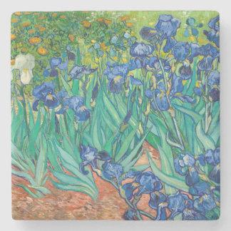 VINCENT VAN GOGH - iris 1889 Dessous-de-verre En Pierre