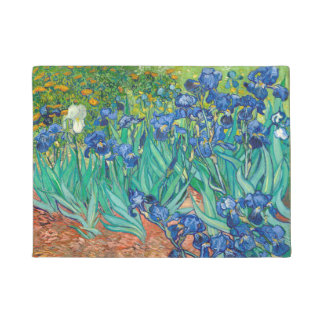 VINCENT VAN GOGH - iris 1889 Paillasson