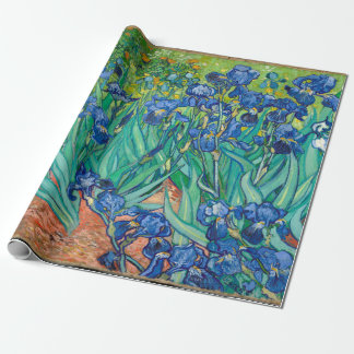 VINCENT VAN GOGH - iris 1889 Papier Cadeau