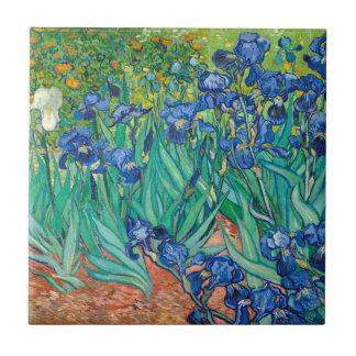 VINCENT VAN GOGH - iris 1889 Petit Carreau Carré