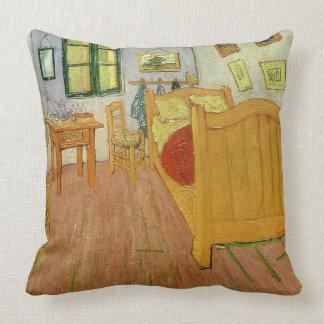 Vincent van Gogh | la chambre à coucher, 1888 Coussin Décoratif