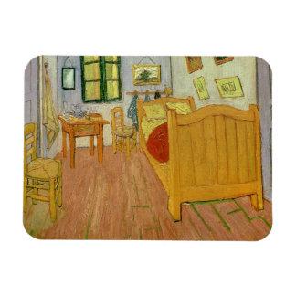 Vincent van Gogh   la chambre à coucher, 1888 Magnet Souple