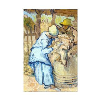 Vincent van Gogh la Mouton-Haveuse Toiles