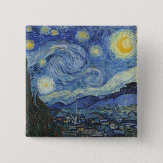 Vincent van Gogh | la nuit étoilée, juin 1889 Badges