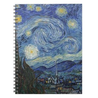 Vincent van Gogh | la nuit étoilée, juin 1889 Carnet