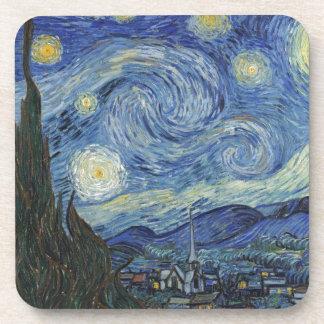 Vincent van Gogh | la nuit étoilée, juin 1889 Dessous-de-verre