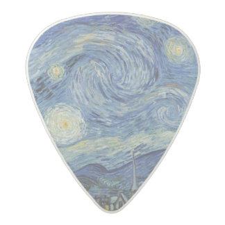 Vincent van Gogh | la nuit étoilée, juin 1889 Médiator Acetal