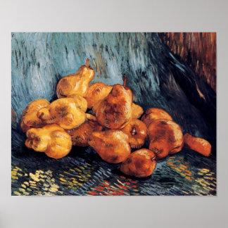Vincent van Gogh - la vie toujours avec des Poster