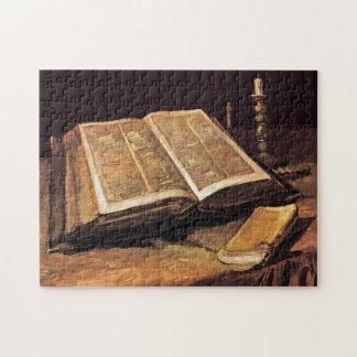Vincent van Gogh - la vie toujours avec la bible Puzzle