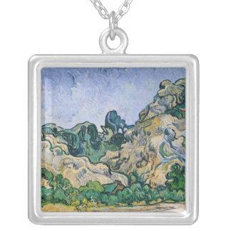 Vincent van Gogh | l'Alpilles, 1889 Pendentif Carré