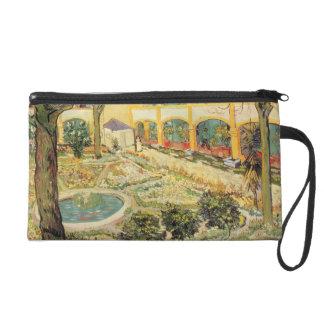 Vincent van Gogh | le jardin d'asile chez Arles Pochettes Avec Dragonne