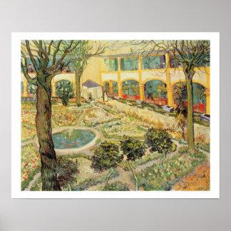 Vincent van Gogh   le jardin d'asile chez Arles Poster