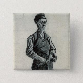 Vincent van Gogh | le jeune forgeron, 1882 Pin's