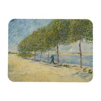 Vincent van Gogh - le long de la Seine Magnets En Vinyle