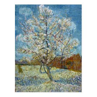 Vincent van Gogh le pêcher rose Carte Postale