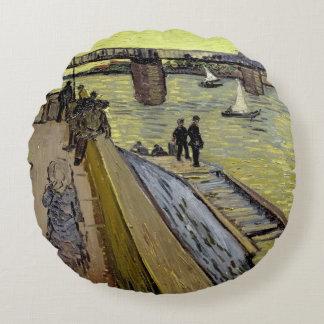 Vincent van Gogh | Le Pont de Trinquetaille Arles Coussins Ronds